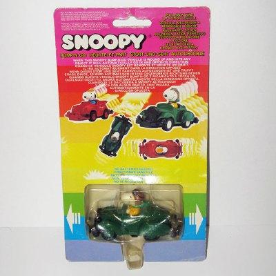 Snoopy Green Roadster Bump N' Go Car