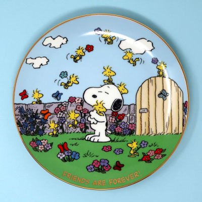 Friends are Forever Peanuts Plate