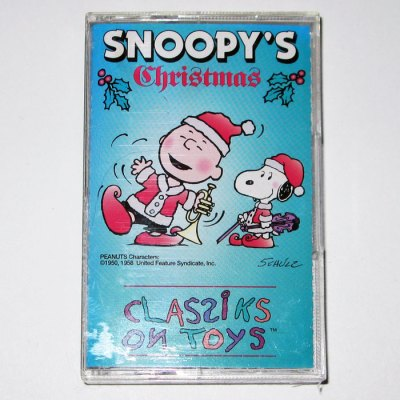 Snoopy's Christmas Cassette Tape