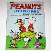 Peanuts Baseball Vintage Coloring Book
