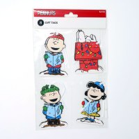 Peanuts Gang Cut-outs Christmas Gift Tags