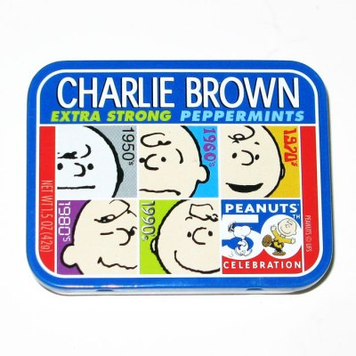 Charlie Brown Peppermints Tin