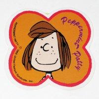 Peppermint Patty Flower Sticker