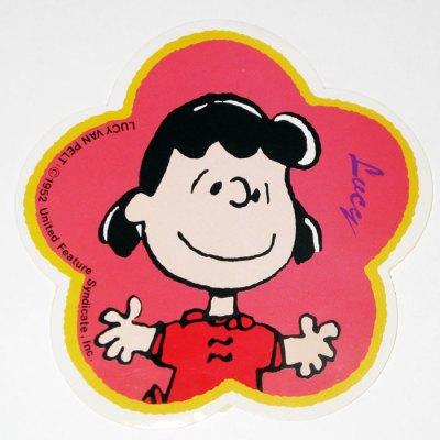 Lucy Flower Sticker
