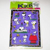 Snoopy & Woodstock Stickers