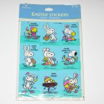 Snoopy & Woodstock Easter Stickers
