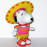 Snoopy in Mexico Doll
