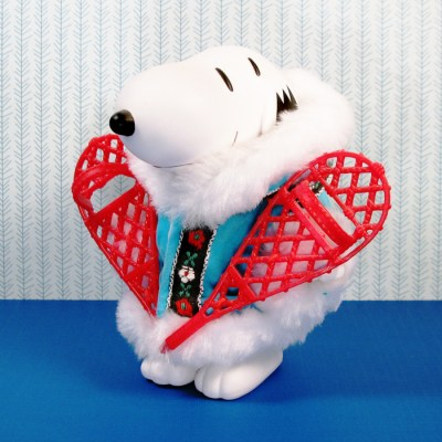 Snoopy in Alaska Doll