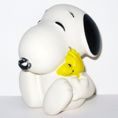 Snoopy hugging Woodstock Squeaky Toy