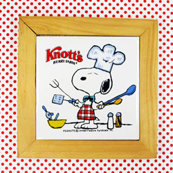 Cooking with Snoopy