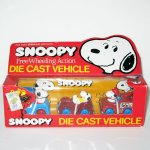 Snoopy Freewheeling Die-cast Vehicle Set 2