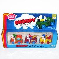 Snoopy Handfuls Die-cast Vehicle Set