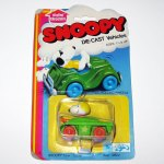 Snoopy in Tank Die-cast Car