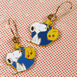 Snoopy & Woodstock Earrings