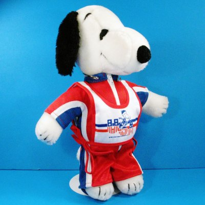 Snoopy Dress-Up Doll Olympic Skier Outfit