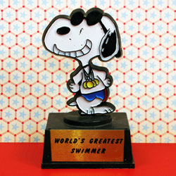 Go for the Gold, Snoopy!