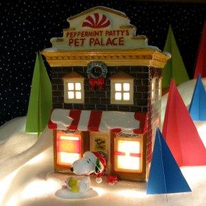Peanuts Christmas Village