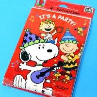 Peanuts Party Invitations