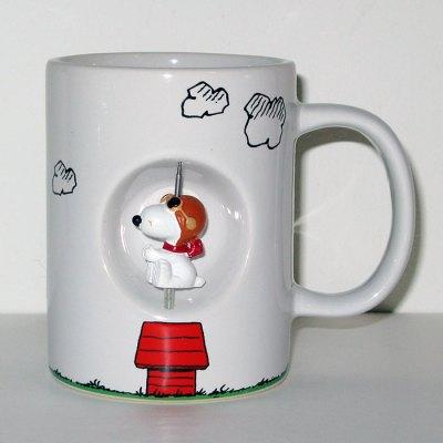 Snoopy Flying Ace Spinner Mug