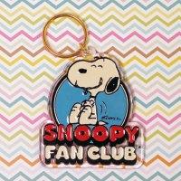 Snoopy Fan Club Keychain