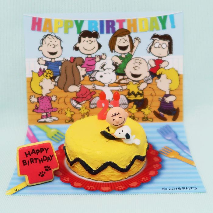 Pleasant Snoopy Charlie Brown Birthday Cake Collectpeanuts Com Personalised Birthday Cards Paralily Jamesorg