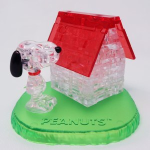 Snoopy's Doghouse Original 3D Crystal Puzzle by BePuzzled