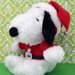Santa Snoopy Plush