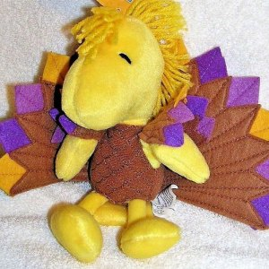 Turkey Woodstock Plush Toy