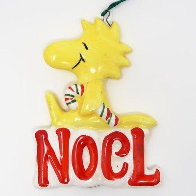 Woodstock Noel Christmas Ornament