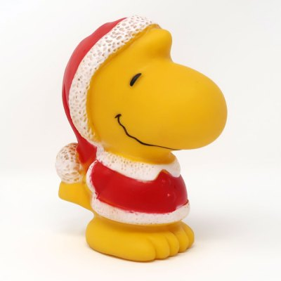 Santa Woodstock Squeaky Toy