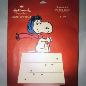 Snoopy Centerpiece by Hallmark