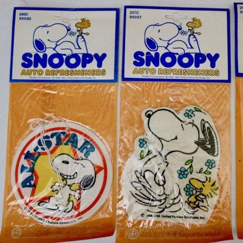 Snoopy Auto Refresheners