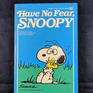 Snoopy Fawcett Crest Book