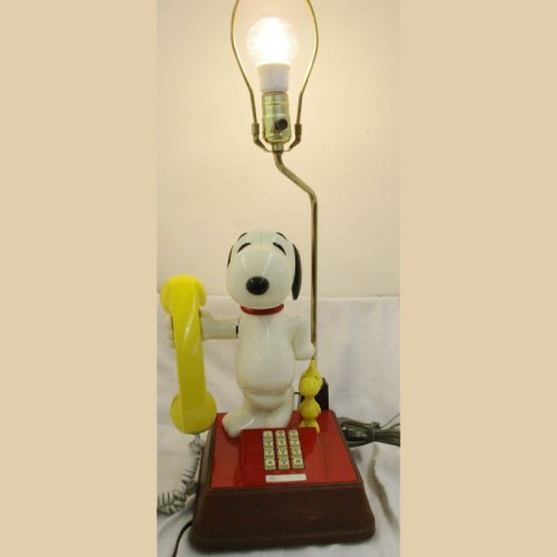 Snoopy Phone Lamp