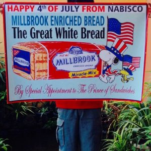 Millbrook Bread Snoopy Sign