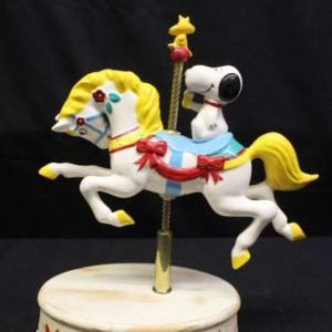 Snoopy Carousel Horse Musical