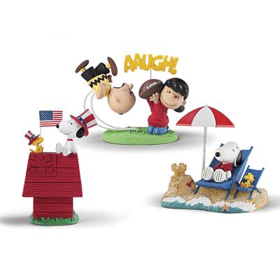Peanuts Perpetual Calendar Figurines