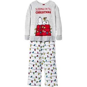 Peanuts Christmas Pajamas from Amazon.com