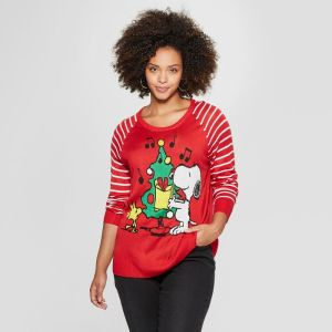 Peanuts Christmas Apparel from Target