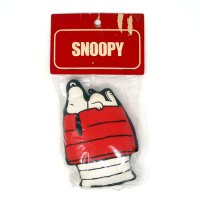 Snoopy laying on doghouse Fabric Stuffed Mini Mascots Ornament