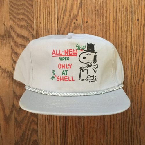 Snoopy Shell Gas Station Hat