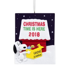 Peanuts Christmas Collectibles from Walmart