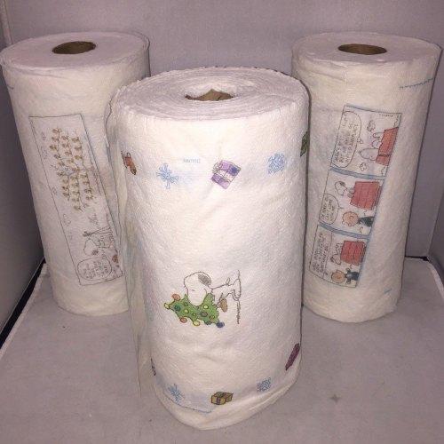 Peanuts Bounty Paper Towels