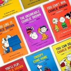Click to shop Peanuts cartoon books