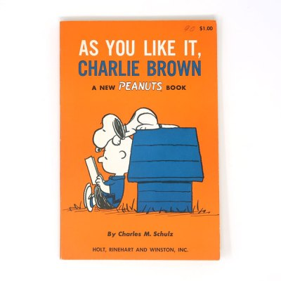 As You Like It, Charlie Brown Peanuts Book