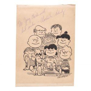 Charles Schulz Autograph
