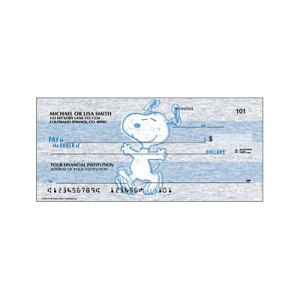 Peanuts Personal Checks from Checks Unlimited