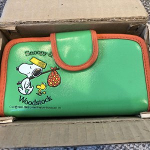 Snoopy Clutch Purse