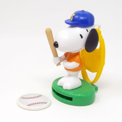 Baseball Snoopy Happy Meal Toy