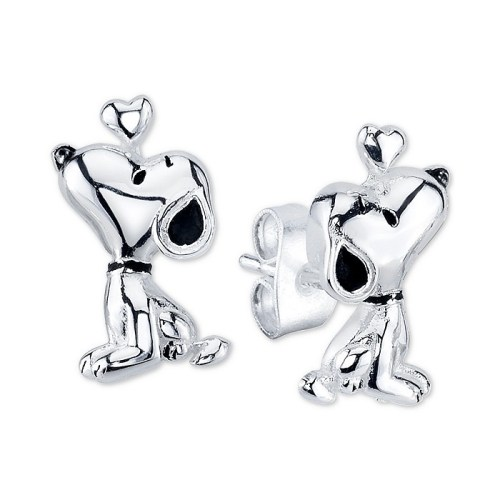 Snoopy Necklace and Earrings